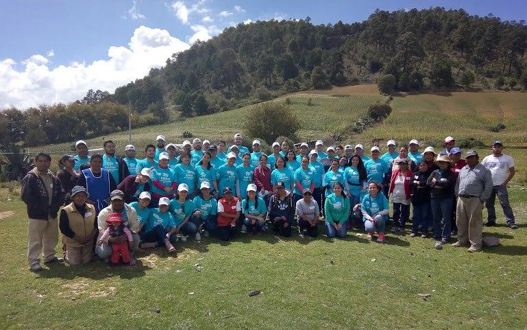 Voluntarios de BanCoppel se suman a brigada de reconstrucción
