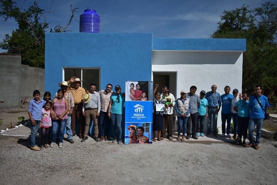 Hábitat para la Humanidad México entrega viviendas en Morelos