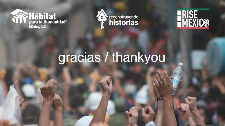 Alumnos en Reino Unido se suman a la reconstrucción de México