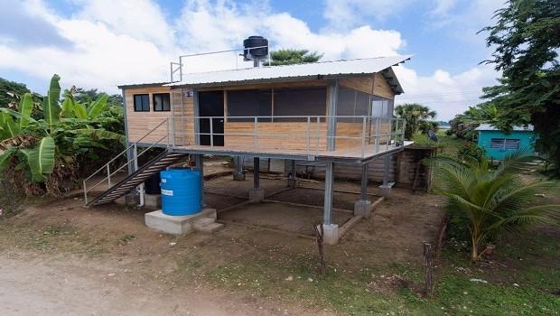 Citibanamex entrega casas sustentables y diseñadas para soportar desastres naturales