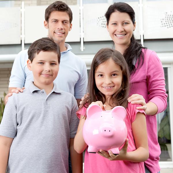 El A, B, C para ahorrar en familia