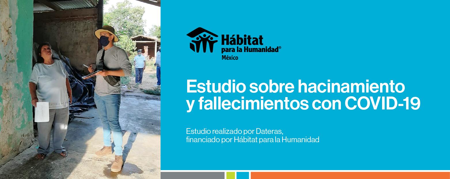 ESTUDIO SOBRE HACINAMIENTO Y FALLECIMIENTOS CON COVID-19