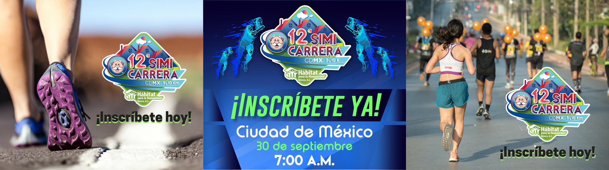 Reconstruyamos hogares y sueños con la 12.a Simicarrera CDMX y Hábitat para la Humanidad México